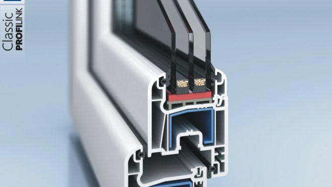 Profilo PVC a 4 Camere