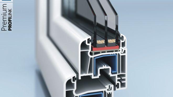 Profilo PVC a 5 Camere
